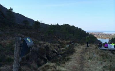 Skarsvegen fra Sør Heggdal