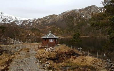 Heggdalsvatnet, Nord-Heggdal